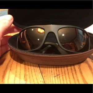 Maui Jim Polarized Wrap Sunglasses- Peahi